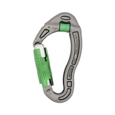 Revolver Locksafe Titanium/Green : DMM